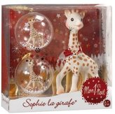 Vulli Baby's Chrismas Gift, Sophie the Giraffe My First Christmas Teether and Ornament Set