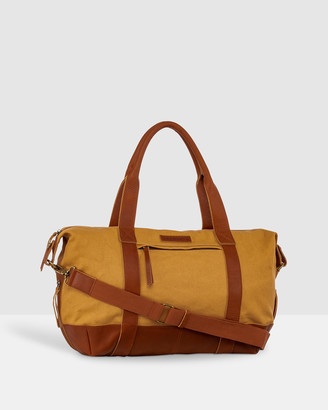 The Horse - Men's Brown Leather bags - The Weekender Duffle Bag - Size One Size at The Iconic