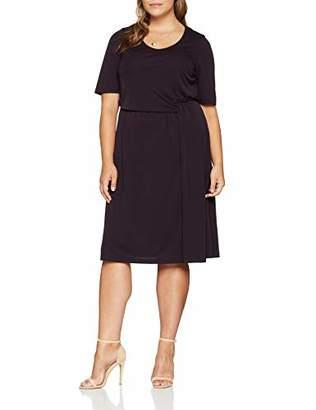 Ulla Popken Women's Kleid mit Drapierung Dress,UK 34