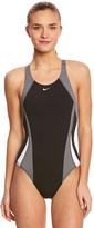 Nike Women's Color Surge Fastback Tank One Piece Swimsuit 8148611