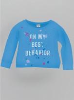 Junk Food Clothing Best Behavior-clear Blue-l