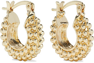 Shashi Roman 18-karat Gold-plated Earrings