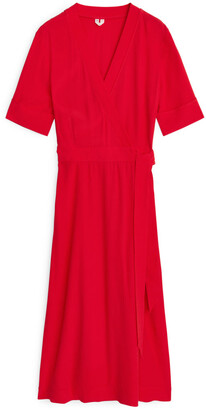 Arket Flared Wrap Dress