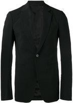 Rick Owens classic blazer - men - Cotton/Spandex/Elastane/Cupro/Virgin Wool - 50