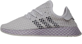 adidas Womens Deerupt Runner Trainers Grey One/Carbon/Soft Vision