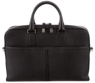 Christian Dior Grained leather Briefcase