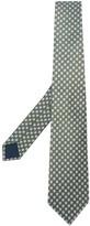 Lanvin geometric print tie