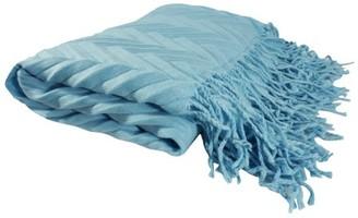 K Cliffs Deluxe Knitted Blanket Throw Embossed Women Raffle Poncho Shawl Fringes Warm Fashion Cloak Cape Tassels Large Wrap Stylish Winter Long Scarf TH420 Aqua