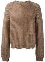 J.W.Anderson distressed jumper
