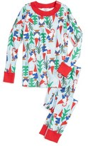Hanna Andersson Toddler Gnome Fitted Two-Piece Pajamas