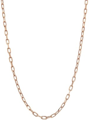 Walters Faith 1.5mm Link Chain Rose Gold Necklace