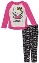 """Hello Kitty Little Girls' """"Classic Cute"""" 2-Piece Outfit"""