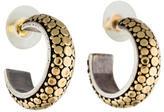 John Hardy Two-Tone Dot Hoop Earrings