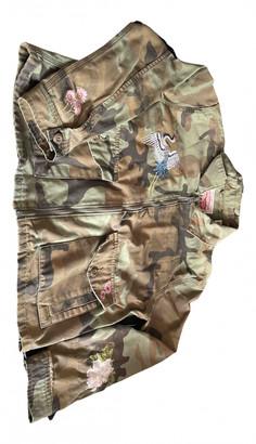 Levi's Khaki Cotton Jackets