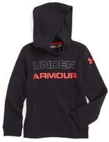 Under Armour 'Sportstyle' Logo Graphic ColdGear ® Hoodie (Little Boys & Big Boys)
