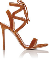 Gianvito Rossi Women's Zigzag Ankle-Strap Sandals-BROWN