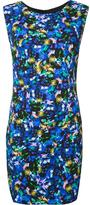 Milly sleeveless fitted dress - women - Spandex/Elastane/Viscose - 6