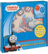 Thomas & Friends Wooden Clock