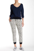 Threads 4 Thought Brice Animal Print Zip Sweat Pant