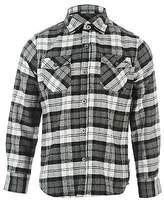 Lee Cooper Kids Flannel Shirt Junior Boys Long Sleeve Top Button Down