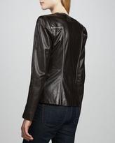 Carolina Herrera Leather Jacket