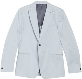Reiss Soul Notch Collar Single Button Slim Fit Jacket