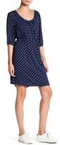 Loveappella 3/4 Length Sleeve Cross Strap Dress
