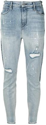RtA Two-Tone Skinny Jeans
