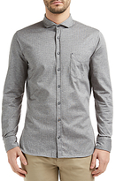Hugo Boss Boss Orange Cattitude Slim Fit Shirt, Light Pastel Grey