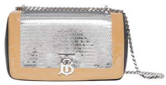Burberry Small Lola TB Sequin Embellished Shoulder Bag