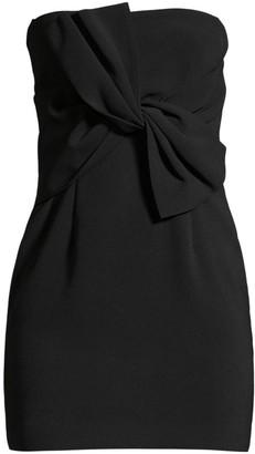 LIKELY Araya Strapless Twist Mini Dress