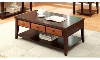Hokku Designs Squanto Coffee Table with Storage