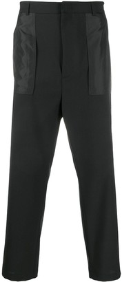 Les Hommes Tailored Reverse Pocket Trousers