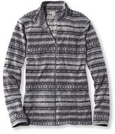 L.L. Bean Women's Fitness Fleece, Full-Zip Fair Isle