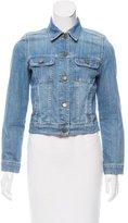 Comptoir des Cotonniers Denim Button-Up Jacket