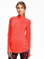 Old Navy Maternity Go-Dry 1/4-Zip Pullover