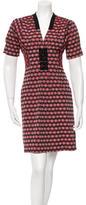 Mayle Jacquard Short Sleeve Dress