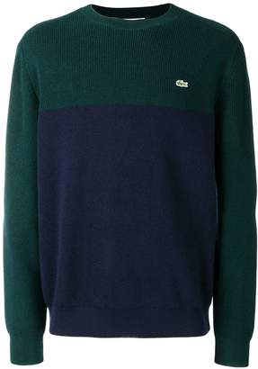 Lacoste embroidered logo jumper