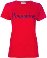 MAISON KITSUNÉ Parisienne T-shirt - women - Cotton - S