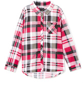 U.S. Polo Assn. Maroon Hi-Low Button-Up - Girls