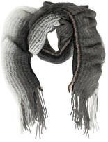 Missoni Charcoal Open Knit Scarf