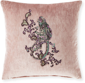 """Etro Casseuax 18"""" Embroidered Pillow"""