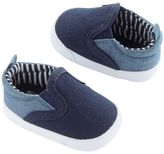 Carter's Newborn Baby Boy Slip-On Sneaker Crib Shoes