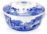"Spode Blue Italian"" Round Covered Casserole"