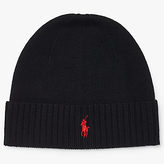 Polo Ralph Lauren Merino Wool Beanie Hat, One Size