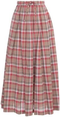 Aspesi Long Skirt Madras