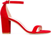Stuart Weitzman Nearlynude sandals - women - Leather/Nubuck Leather - 37.5