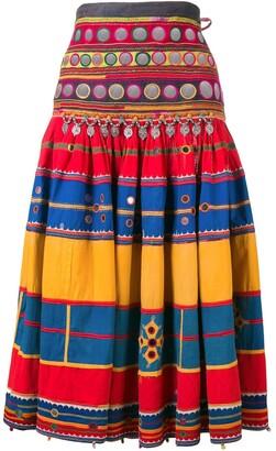 A.N.G.E.L.O. Vintage Cult 1970's Patterned Skirt