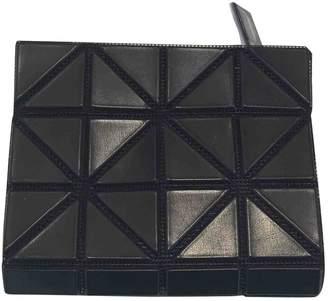Issey Miyake Black Plastic Wallets