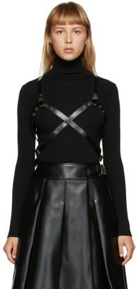 Junya Watanabe Black Leather Harness
